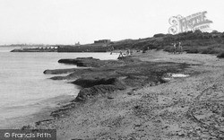 Isle Of Grain, The Beach c.1960