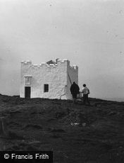 Isle of May, the Old Lighthouse 1959