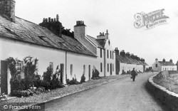 Isle Of Whithorn, Glasserton Row c.1920
