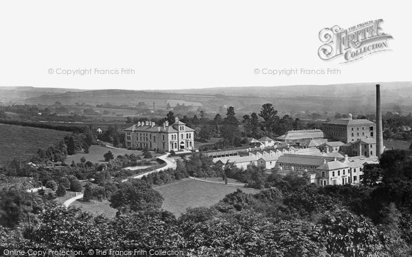 Ivybridge,Allen's Paper Mill c1876,Devon
