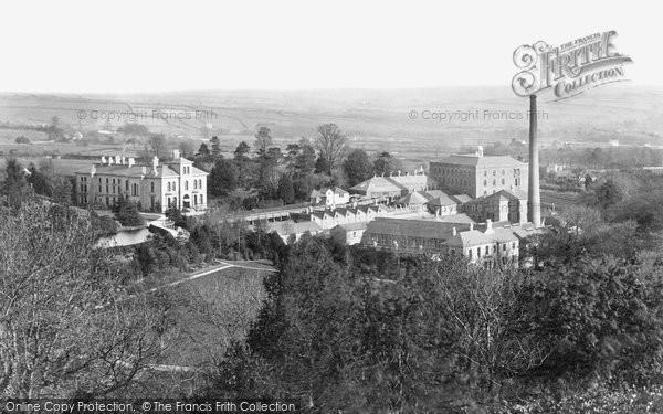 Ivybridge,Allen's Paper Mills 1890,Devon