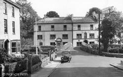 Old Bridge And The London Hotel c.1955, Ivybridge