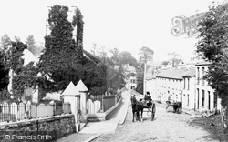 Old Church And Village 1890, Ivybridge