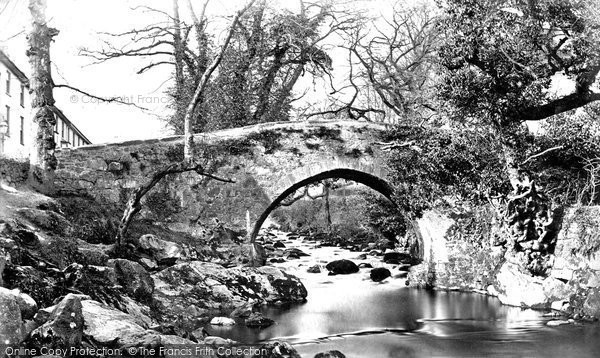 Photo of Ivybridge, the Bridge c1876, ref. 8306