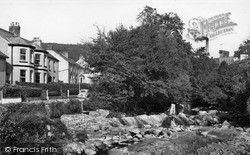 The River And Erme Road c.1955, Ivybridge