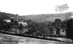 Vicarage And Viaduct c.1876, Ivybridge