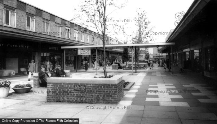 Jarrow, Arndale Shopping Centre c1965