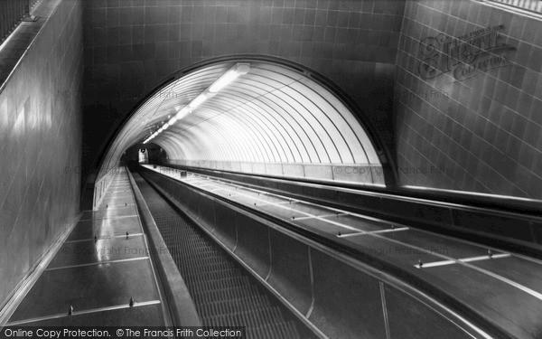 Jarrow, Escalator, Tyne Tunnel c1965