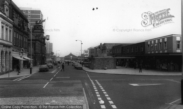 Jarrow, Grange Road c1965