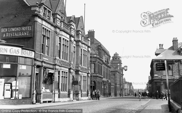 Jarrow, Grange Road West c1955