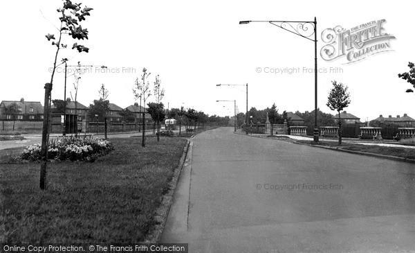 Jarrow, York Avenue c1965