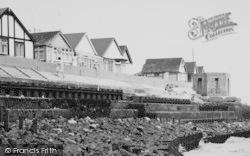 Jaywick, Brookland Avenue, Sea Wall c.1955