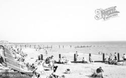 Jaywick, Promenade And Beach c.1965