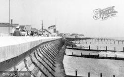 Jaywick, Sea Wall c.1955