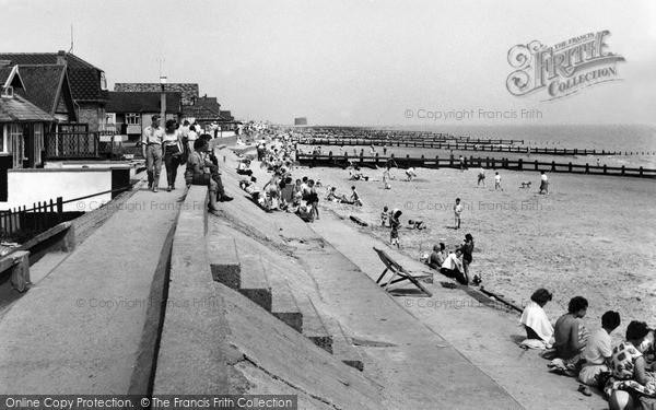 Photo of Jaywick, the Sands c1955