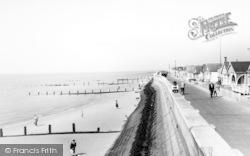 Jaywick, The Sea Wall c.1960