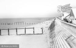 Jaywick, The Sea Wall c.1965