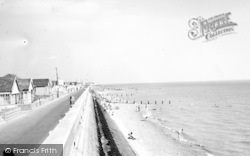 Jaywick, The Seafront c.1965