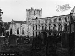 Abbey 1955, Jedburgh