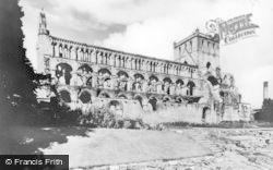 Abbey c.1930, Jedburgh