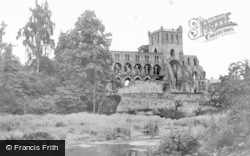 Abbey From Lothian Park c.1930, Jedburgh