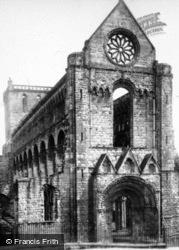Abbey, West Front c.1930, Jedburgh