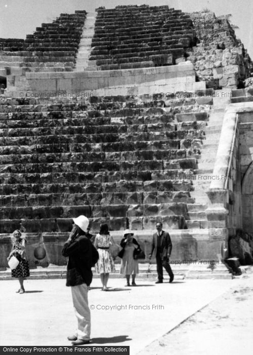Photo of Jerash, The Theatre 1965