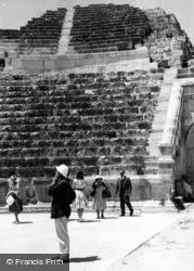 Jerash, The Theatre 1965