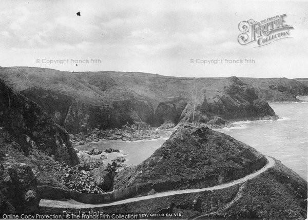 Photo of Jersey, Creux Du Vis 1894