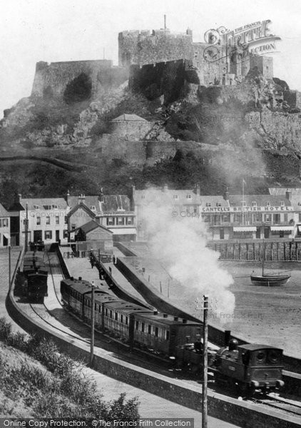 Photo of Jersey, Gorey And Mont Orgueil 1899