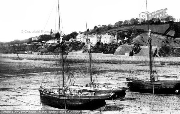 Photo of Jersey, Gorey Harbour And Village 1893