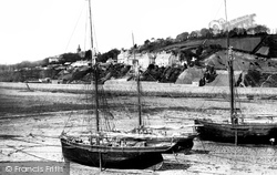 Jersey, Gorey Harbour And Village 1893