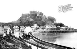 Gorey, Mont Orgueil Castle 1899, Jersey