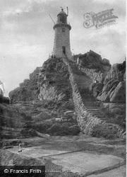 Jersey, La Corbiere Lighthouse 1893