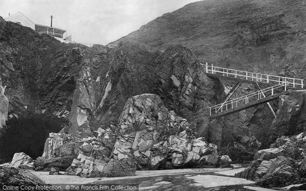 Photo of Jersey, Plemont Caves c.1900