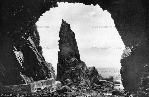 Photo of Jersey, Plemont Caves, Needle Rock c.1900