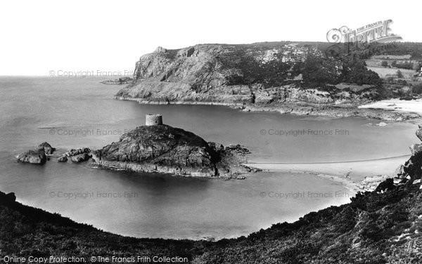 Photo of Jersey, Portelet Bay 1893