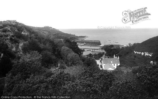 Photo of Jersey, Rozel Bay 1894