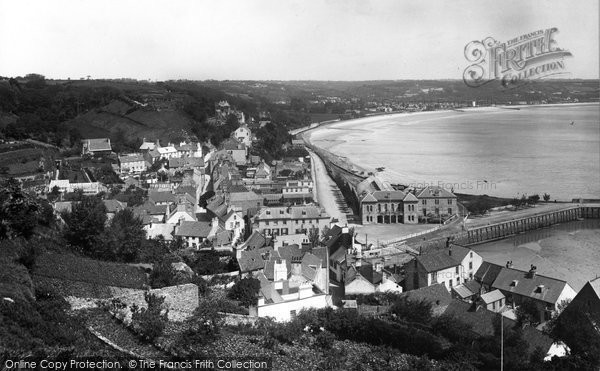Photo of Jersey, St Aubin 1894