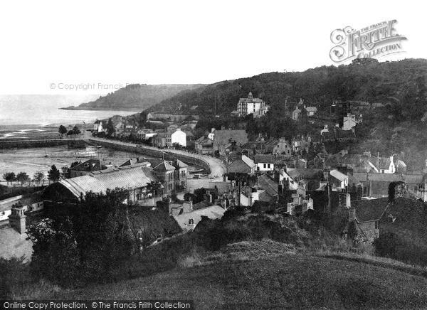 Photo of Jersey, St Aubin c.1880