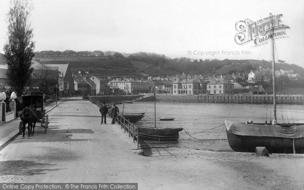 Photo of Jersey, St Aubin Esplanade 1893