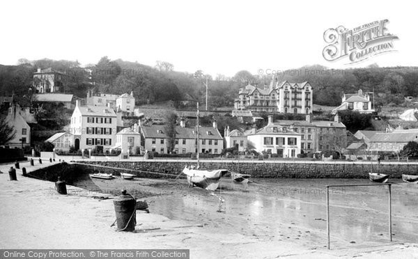 Photo of Jersey, St Aubin From The Pier 1893