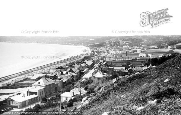 Photo of Jersey, St Aubin's Bay From West Mount 1894