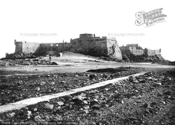 Photo of Jersey, St Helier, Elizabeth Castle 1894