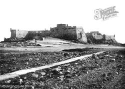 St Helier, Elizabeth Castle 1894, Jersey