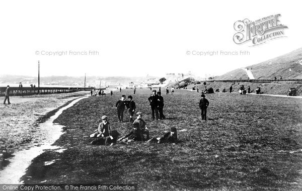 Photo of Jersey, St Helier People's Park 1893