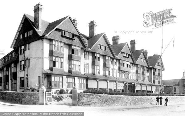 Photo of Jersey, St Helier, the Grand Hotel 1893