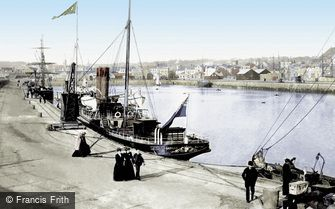 Jersey, St Helier, the Harbour 1893