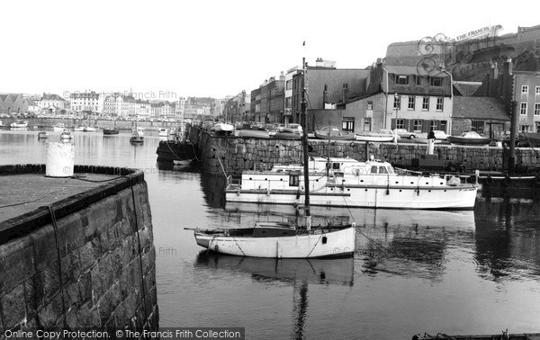 Photo of Jersey, St Helier, The Harbour c.1965