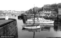 St Helier, The Harbour c.1965, Jersey